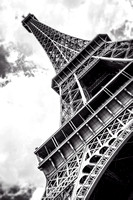 Eiffel Tower in Black and White