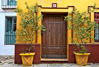 Colorful Front Door in Seville