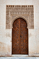 Alhambra Door Detail